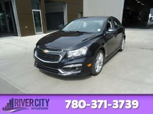 2015 Chevrolet Cruze LTZ TURBO Accident Free,  Leather,  Heated