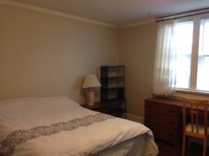 furnished room rented by day/week, available immediately