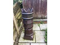 King chimney garden pot