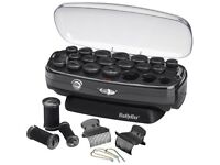Babyliss Heated Hair Rollers (soft touch velvet)