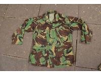 Original 1985 Pattern DPM Temperate Field Jacket Size Medium