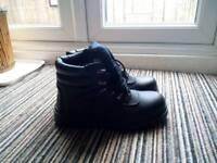 Steel Toe Cap Boots Tuf UK Size 7