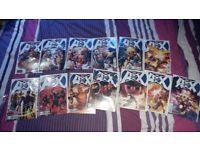 Avengers vs xmen 0-12 first editions