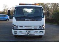 Isuzu NQR75 Tilt & Slide recovery Truck for sale