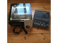 Mackie Onyx 1620i mixing desk and firewire audio interface