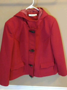 Ladies XL fushia jacket