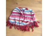 Name It knitted poncho Age 9-12 mths