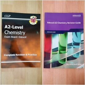Edexcel A2 Chemistry Revision guides CGP and Exam Board