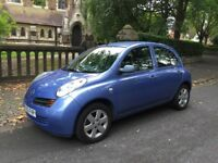 2005 NISSAN MICRA 1.5dci DIESEL 37000 MILES EXCELLENT CONDITION £30 ROAD TAX