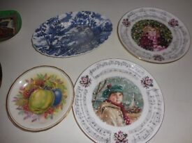 VINTAGE COLLECTORS PLATES ROYAL DOULTON ETC