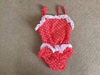 Swimming nappy costume - medium (6-12 months) - £3
