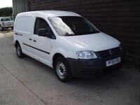 2010 VW VOLKSWAGEN CADDY MAXI LWB 1.9TDI 104PS DOUBLE SIDE DOORS NO VAT TO PAY
