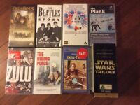 Collection of VHS video rated U & PG