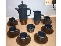 Vintage Cinque Ports Ltd Pottery coffee set