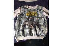 Blue inc Star Wars 3XL jumper