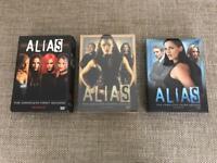 Seasons 1-3 of Alias on DVD