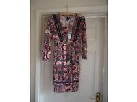 IZABEL PAISLEY DRESS BRAND NEW