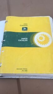 John Deere 7721 Parts and Technical Manuals