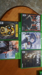 Xbox one games call of duty b.o.3. Fallout4 and more