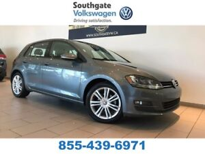 2015 Volkswagen Golf HIGHLINE | Leather | Heated Seats | Back Up
