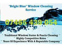 """ Bright Blue "" Window Cleaning Service"