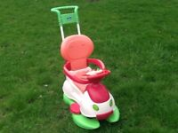 Kids Ride On - Chicco Quattro 4 in 1 Car Ride On in very good condition
