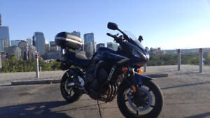 2008 FZ6 Set Up for Touring