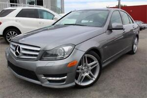 2012 MERCEDES C350 4MATIC/AWD NAVIGATION / XENON / CAMERA / TOIT