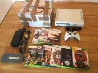 60gb XBOX 360 Boxed With 10 Games & Headset £30 no offers