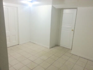 Basement apartment (kitchen is shared) - August sublet