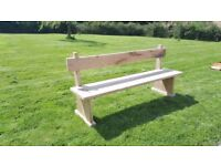 Handcrafted English Oak Bench