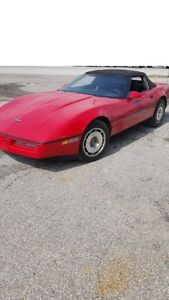 1987 Chevy Corvette Convertible 5.7L Tuned Port Injection