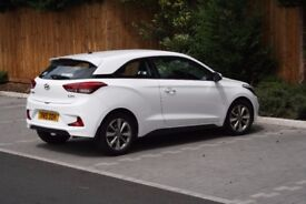 Hyundai i20 Coupe 1.4L (90 BHP), excellent condition & low mileage