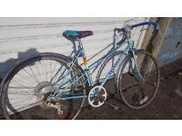 Vintage Adult Ladies Peugeot Road Racer Bike