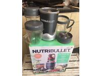 Nutri bullet in box with accessories