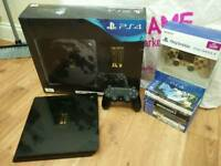 Limited Edition ps4 1TB console with lots of extras