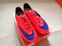 Nike boys football boots size 5.5
