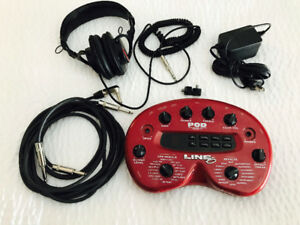 Line 6 POD 2.0 Multi-Effects Guitar Effect Pedal