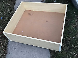 Ikea Under  the Bed Storage Wooden Boxes with Wheels