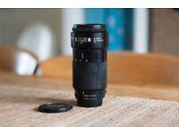 Nikon 70-210 AF F4 telephoto zoom for full frame