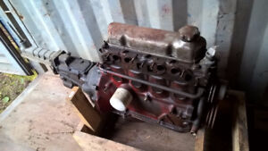 Volvo engine B20 with 4 speed gearbox