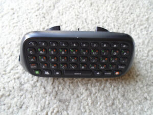 Xbox 360 Text Chatpad (Black) in exc cond ! ONLY $ 8 !!!