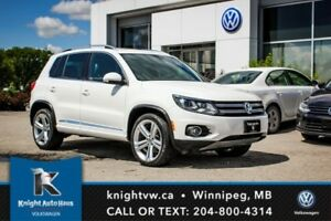 2013 Volkswagen Tiguan Highline R Line 0.99% Financing Available