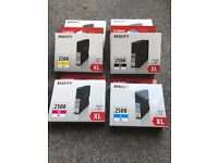 Brand new ink cartridges for Canon Maxify Printer
