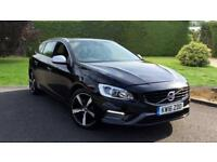 2016 Volvo V60 D3 (150) R DESIGN Lux Nav with Manual Diesel Estate