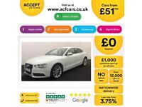 Audi A5 FROM £51 PER WEEK!