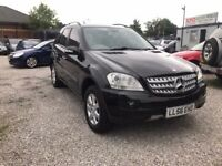 2007 Mercedes-Benz M Class 3.0 ML280 CDI SE 7G-Tronic 5dr FSH+FULL LEATHER+4 MATIC