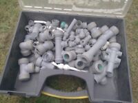 Pipe fittings 3 boxes