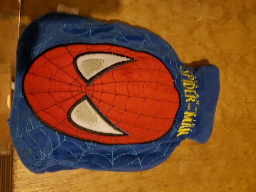 Spiderman water bottlein Bishop Auckland, County DurhamGumtree - Spider man hot water bottle