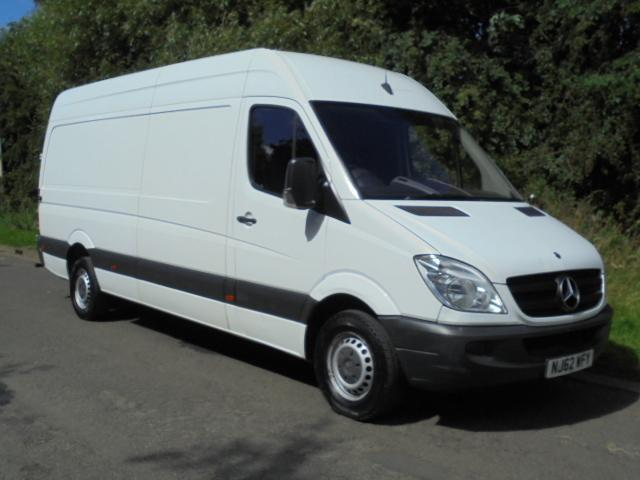 2012 62 mercedes sprinter 313 cdi lwb 4metre cheapest. Black Bedroom Furniture Sets. Home Design Ideas
